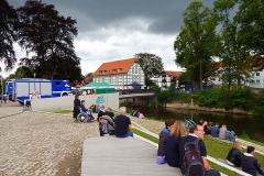 1. Lemgoer-Flößchen-Ralley am Langenbrücker Tor