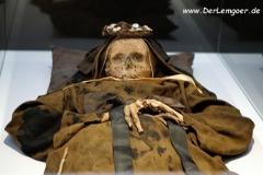 Mumie einer Nonne Vác (Ungarn)