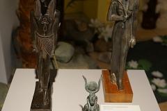 Götterfiguren - anfassen war da sogar erlaubt