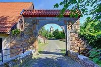 Schäfertorbrücke Schloss Brake