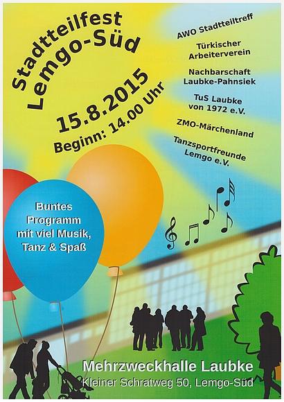 Südstadt-Fest-Plakat